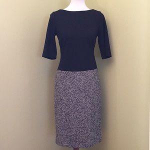 Talbot Black & Tweed Dress